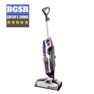 BISSELL Crosswave Pet Pro All in One Wet Dry Vacuum Cleaner and Steam Mop for Wood and Area Rugs, 2306A
